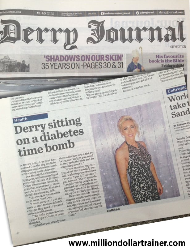 Derry sits on a Diabetes Time Bomb