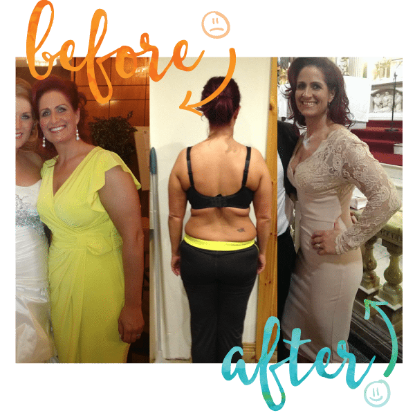 Maria Before and After at Million Dollar Fitness, L'Derry