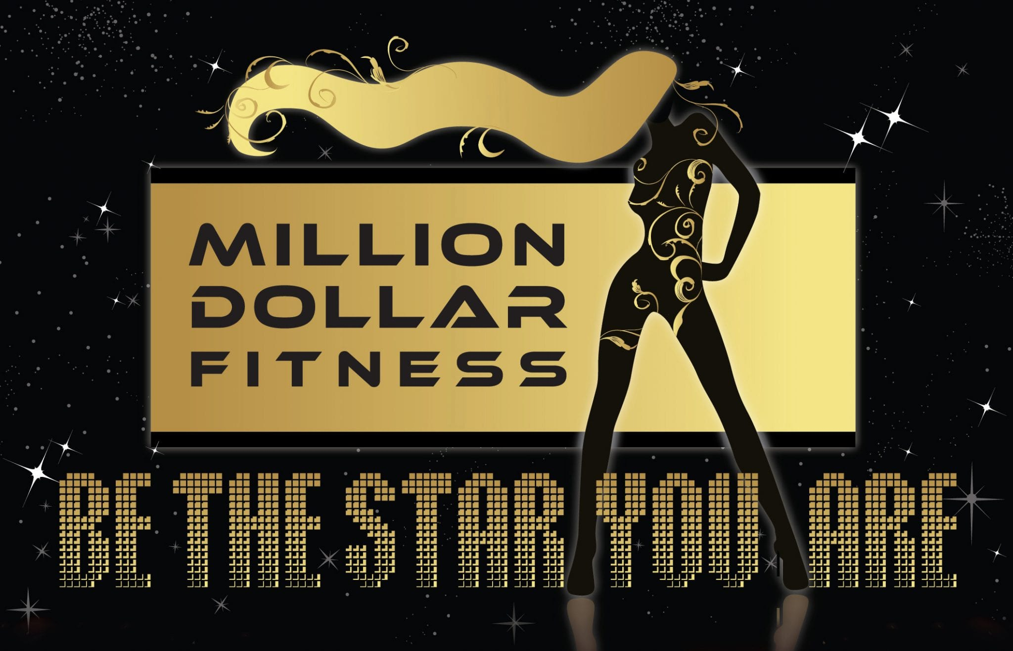 Million Dollar Fitness logo