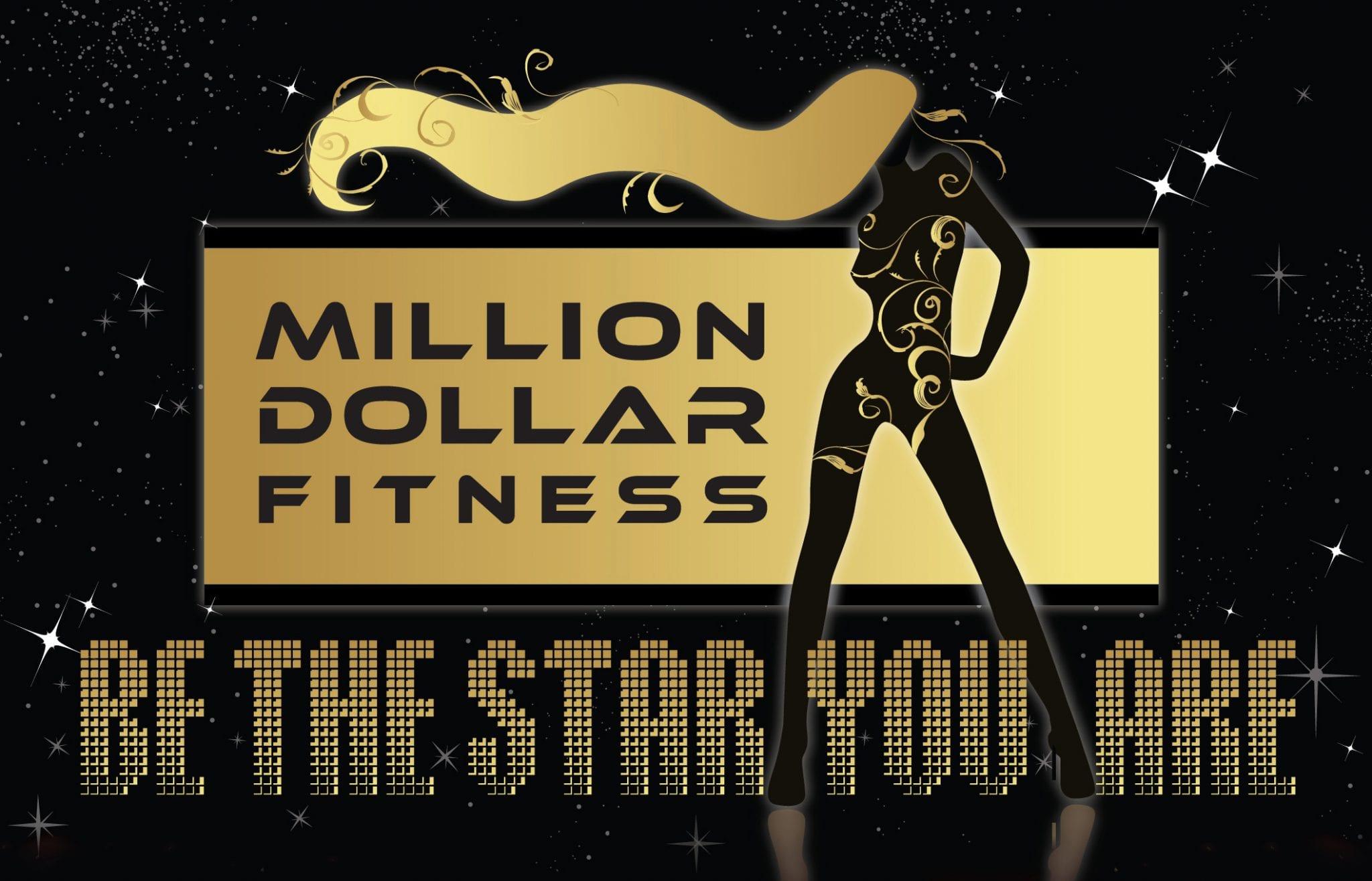 Million Dollar Fitness logo