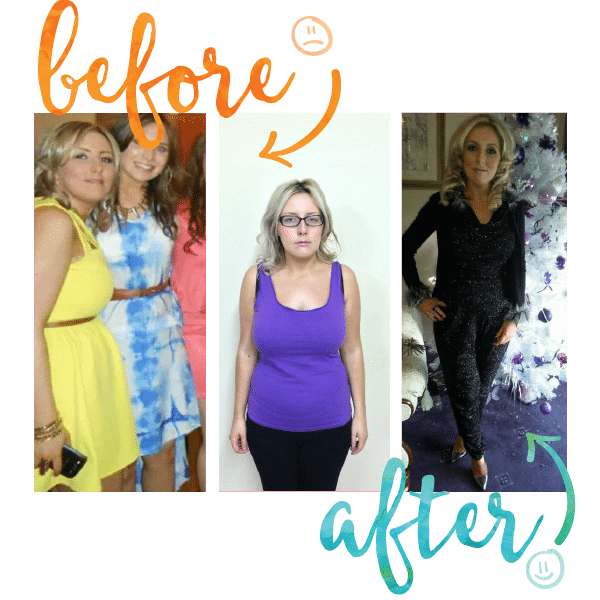 Shelly Before and After at Million Dollar Fitness, L'Derry