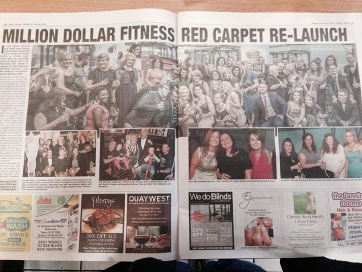 Million Dollar Fitness Relaunch