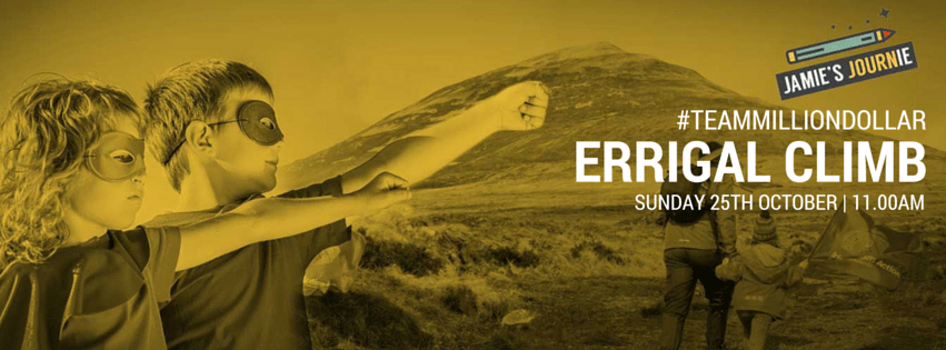 Errigal Climb - Million Dollar Fitness - Jamie's Journie