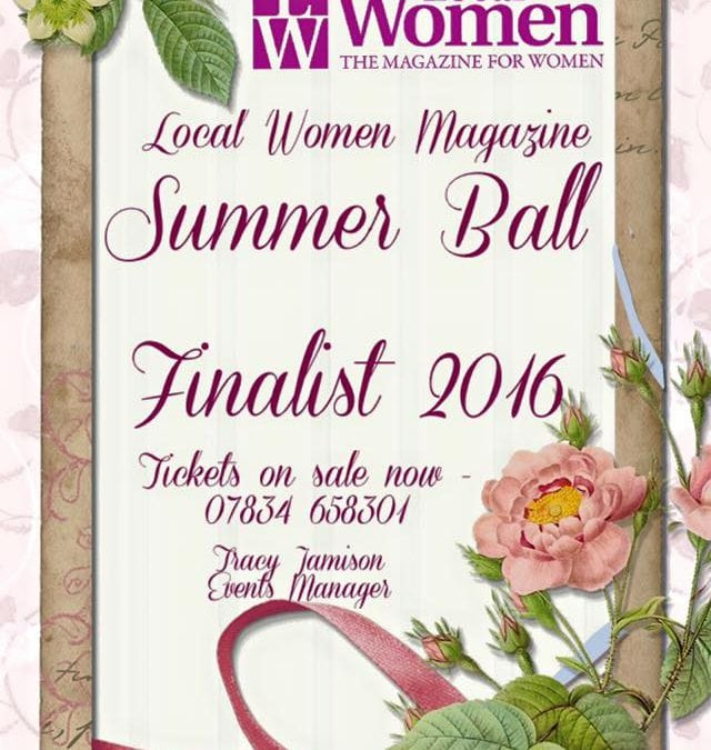 Finalist in Local Women Awards 2016