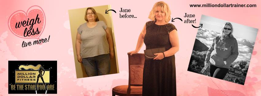 How Jane Lost 8 Stone - Million Dollar Fitness