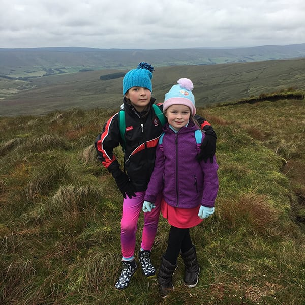 Million Dollar Fitness climb Mt Sawel in Tyrone for Altnagelvin Neonatal ICU fundraiser