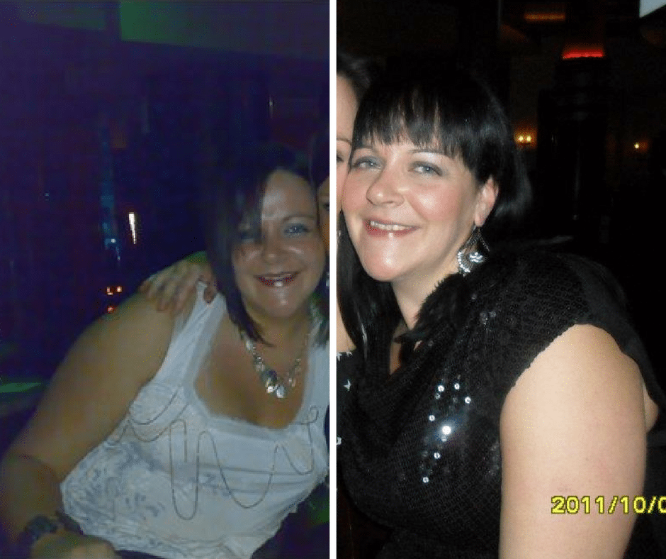 Liz lost 3 dress sizes with Dee McCahill at Million Dollar Fitness in LDerry