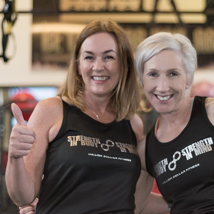 Marina's weight loss journey at Million Dollar Fitness with Dee McCahill, L'Derry