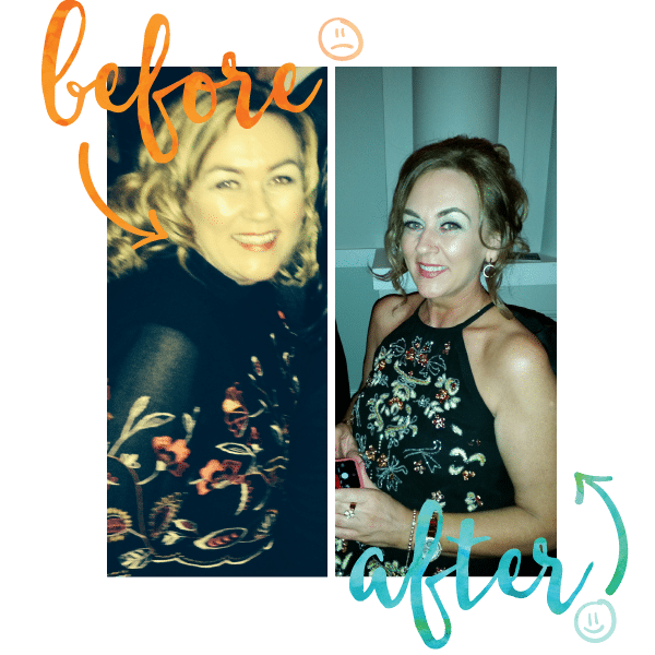 Marina Before and After - Million Dollar Fitness - Dee McCahill - L'Derry