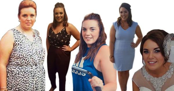 Rachel lost 3 dress sizes at Million Dollar Fitness